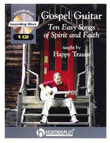 Gospel Guitar: Ten Easy Songs of Spirit and Faith (CD/Book Set)
