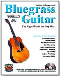 Bluegrass Guitar The Right Way Is The Easy Way Vol 3 Cdbook