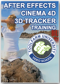 After Effects & CINEMA 4D - 3D Tracker Training